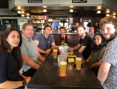 Lunch for Hasti's PhD submission